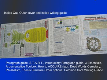 Ultimate English Guide for Teens -Reading Writing, & Analysis Study Guide Color