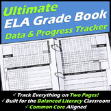 ULTIMATE English Language Arts Teacher Data Tracking Binder