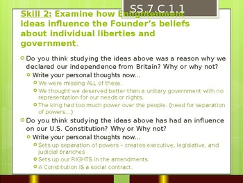 Civics: Ultimate FL EOC Review Powerpoint by Conquering ...