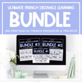 Ultimate FRENCH Digital Distance Learning Resource Bundle
