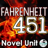 Fahrenheit 451 Teaching Unit and Novel Study Bundle