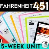 Fahrenheit 451 Teaching Unit and Novel Study Bundle