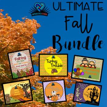 Ultimate Fall Literacy Bundle