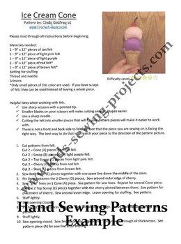 Ultimate Felt Hand Sewing Patterns Bundle Set with 17 patterns