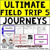 Ultimate Field Trip 5 Journeys 5th Grade Unit 1 Lesson 2 Activities & Printables