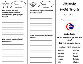 Ultimate Field Trip 5 Trifold - Journeys 5th Grade Unit 1 Week 2