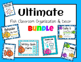 Ultimate Fish Classroom Organization and Decor Bundle