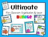 Ultimate Fish Classroom Organization and Decor Bundle