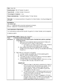 Ultimate Football/Frisbee Lesson Plan