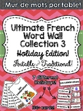 Ultimate French Word Wall Collection 3 - Portable & Indivi