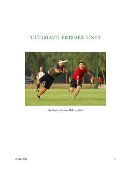 Ultimate Frisbee Unit