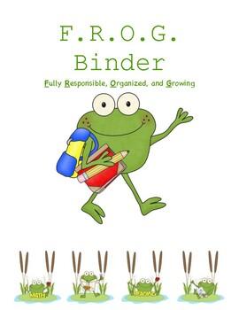 Ultimate Frog Classroom Themed Bundle