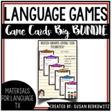 Game Card Bundle for Receptive Expressive Language Development