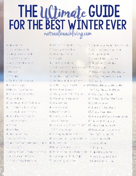 Ultimate Guide for the Best Winter Ever
