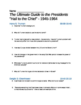 Ultimate Guide to the Presidents - Ep. 7: Hail to the Chief