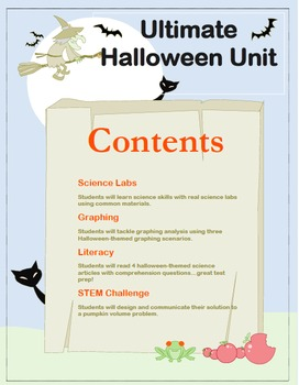 Ultimate Halloween Science Unit!