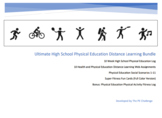 Ultimate High School Physical Education Distance Learning Bundle