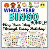 Ultimate Holiday Bingo Bundle - Bingo Games for All the Ma