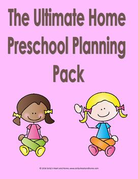 Ultimate Home Preschool Planning Pack