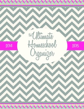 Ultimate Homeschool Organizer 2014-2015