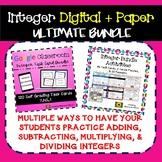 Ultimate Integer Bundle: Digital + Paper: Google + PDF Mat