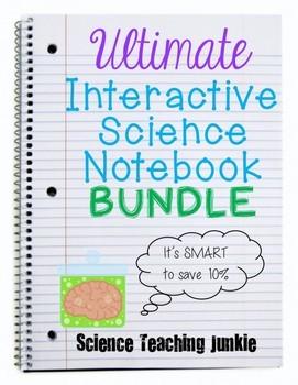 Ultimate Interactive Science Notebook Bundle