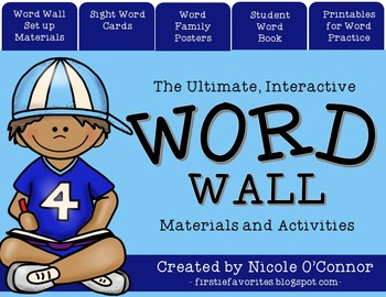 Ultimate Interactive Word Wall Materials and Activities