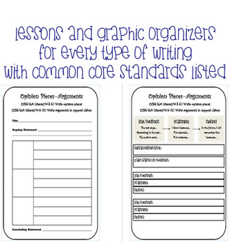 Ultimate Interactive Writer's Notebook - Common Core Alignment - Fits Comp Book