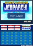 Ultimate Jeopardy Template-Jumbo Size Board
