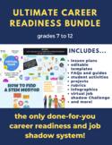 Ultimate Career Planning & Job Shadow System - growing curriculum bundle!