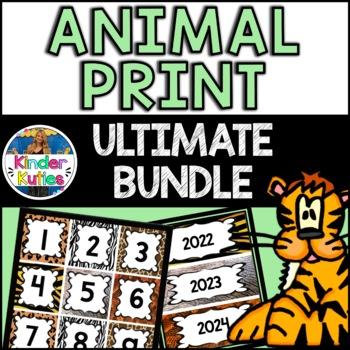 Ultimate Jungle / Safari Animal Print BUNDLE