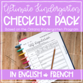 Ultimate Kindergarten Documentation Checklist Pack