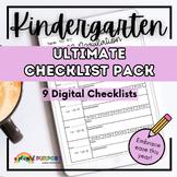 Ultimate Kindergarten Documentation Checklist Pack (Englis