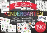 Ultimate Kindergarten Letter Recognition and Identification Set