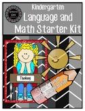 Ultimate Kindergarten Starter Kit (Math, Language and Clas