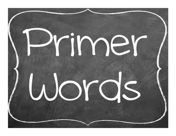 Ultimate Kindergarten Word Wall