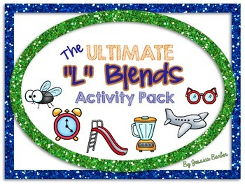 "Ultimate ""L"" Blends Activity Pack- Center activities for consonant blends with l"
