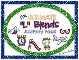 """Ultimate """"L"""" Blends Activity Pack- Center activities for consonant blends with l"""