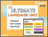 Ultimate Language Unit- October