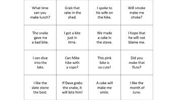 Ultimate Orton Gillingham Level 1 words cards, sentences, and games