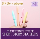 Ultimate List of Short Story Ideas   Creative Writing