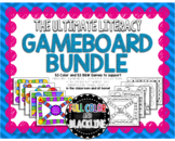 Ultimate Literacy Game Bundle - Color/BW - Sight Words, AB