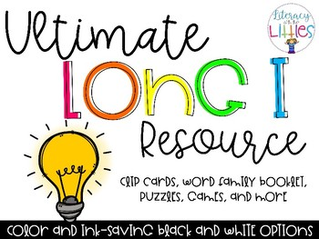 Ultimate Long I Resource {Engaging, hands-on games & activities}