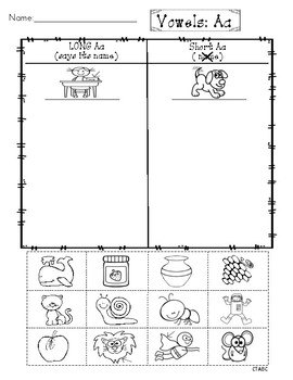 Ultimate Long and Short Vowel Sorts