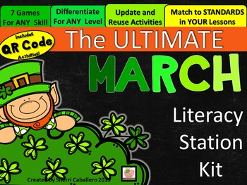 Ultimate March Literacy Station Kit