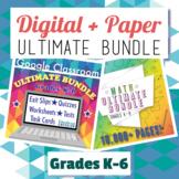 Ultimate Math Bundle, Grades 3-5: Digital + Paper: Google