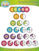 Ultimate Math Fractions Series Clipart {Zip-A-Dee-Doo-Dah Designs}