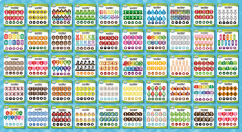 Ultimate Math Numbers / Counting Series Clipart Set – Over 1500 Graphics!