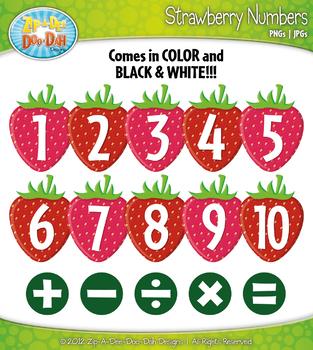 Ultimate Numbers / Counting Series Clipart {Zip-A-Dee-Doo-Dah Designs}
