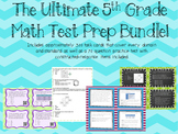 Ultimate Math Test Prep BUNDLE! {Practice Test & Task Cards}